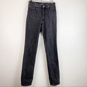 "VTG Guess Black Wash High Rise ""Mom"" Jeans 29"